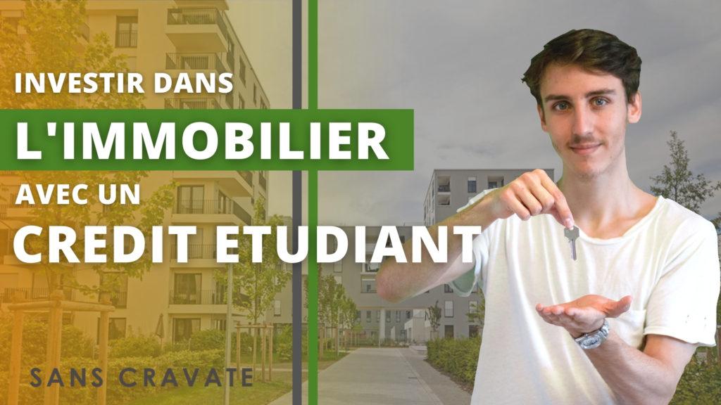 investir dans l'immobilier avec un prêt étudiant